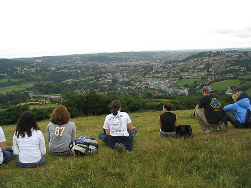 Overlooking Bath on Solsbury Hill