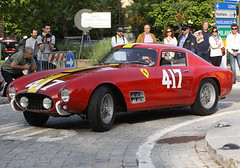 ferrari 250 gto(0.0), alfa romeo giulia tz(0.0), race car(1.0), automobile(1.0), vehicle(1.0), performance car(1.0), ferrari 250(1.0), ferrari s.p.a.(1.0), antique car(1.0), land vehicle(1.0), supercar(1.0), sports car(1.0),