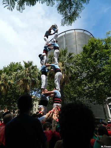 Festa Major del Raval, Castellers d'Esplugues