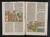 Hand coloured illustrations in Biblia [German]
