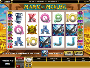 Mark of Medusa Free Spins