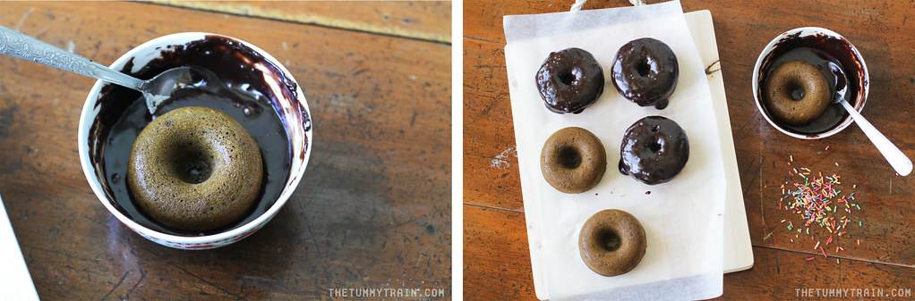 14480723748 bd6a2203e3 b - My first two recipes using my new tiny doughnut pan