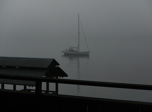 Port Townsend: Waterstreet Hotel: Foggy View in the Morning