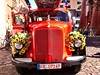Flower power fire engine
