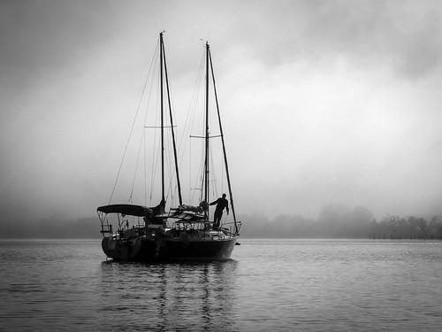 morning fog sailboat creek sunrise bay boat md sailing unitedstates leeds maryland shore eastern chesapeake easton importedkeywordtags
