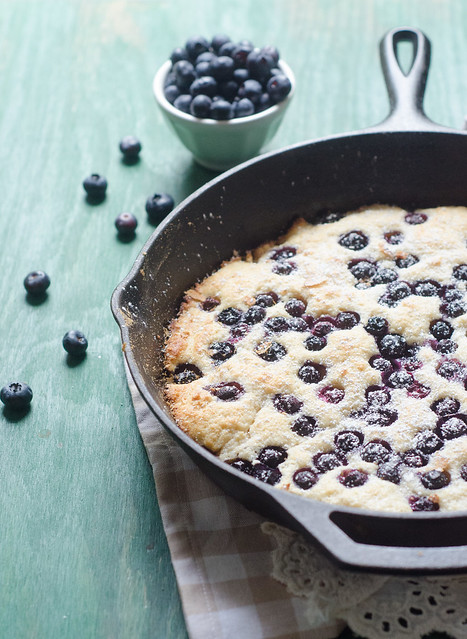 Big Blueberry Pancake
