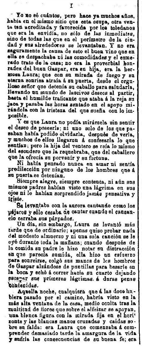 """""""La Venta del Alma"""", leyenda toledana publicada por Adrián García Age el 7 de septiembre de 1891 en """"El Correo Militar"""". (2)"""