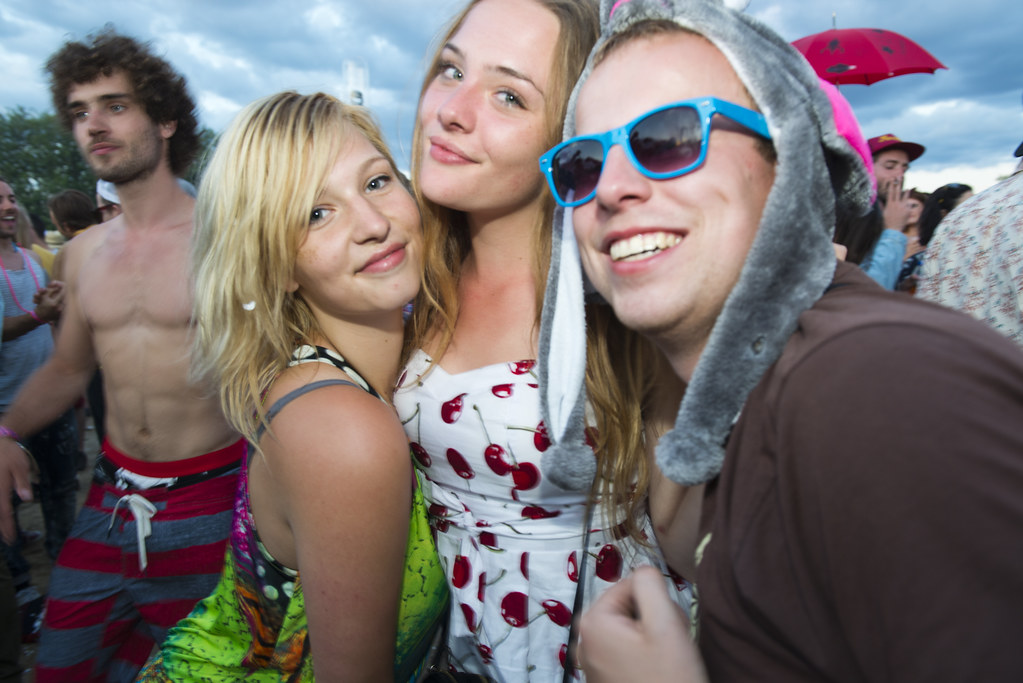 The look // Fusion Festival 2014