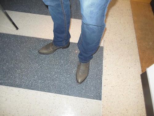 navajo's burka feet
