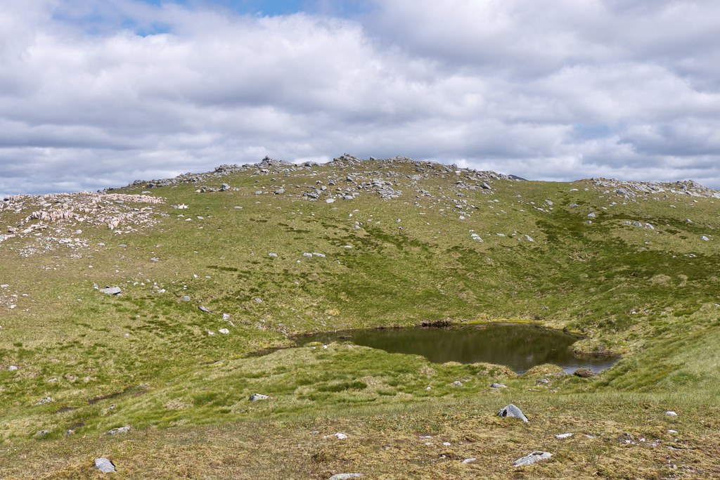 Summit of Meall Odhar