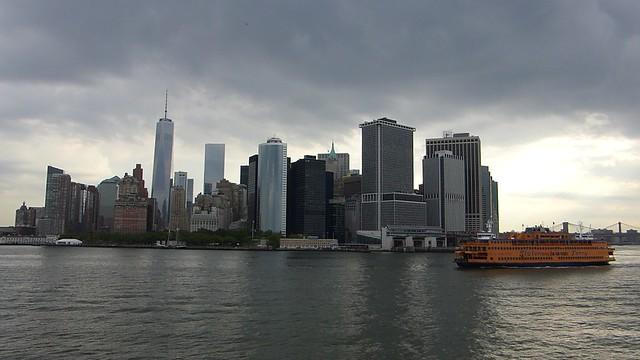 Ferry gratuito con increibles vistas del skyline de Nueva York