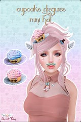 Cupcake Disguise Mini Hats by Sweet Thing.<3