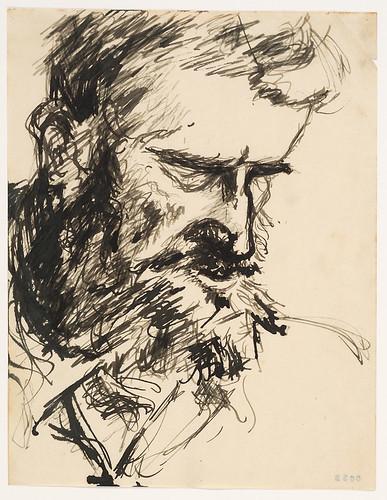 Patrick Putnam; ink on paper by Anne Eisner