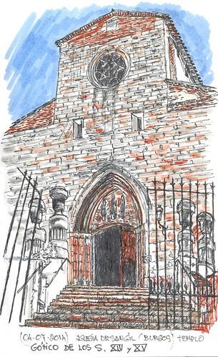 Iglesia de San Gil, en Burgos