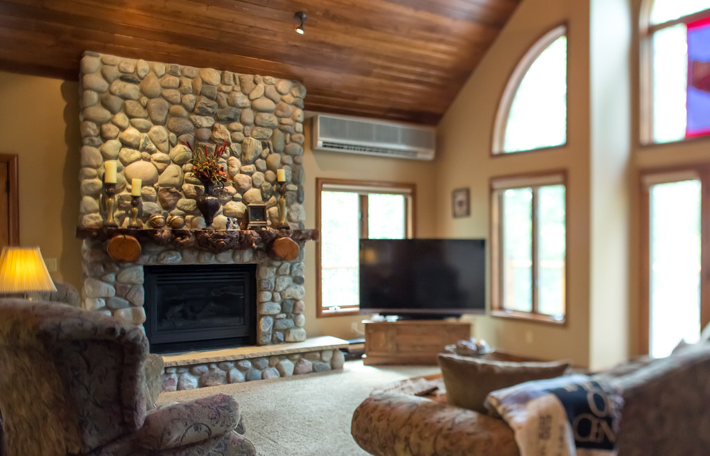 rock fireplace, mountain home for sale in steamboat, ski town real estate, 695 meadowbrook circle