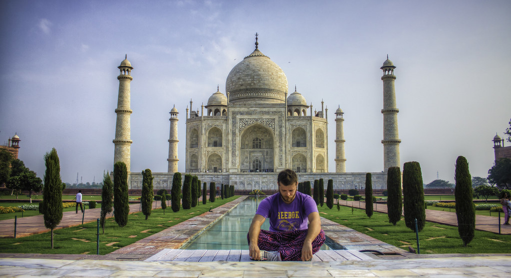 Selfportrait - Agra, India