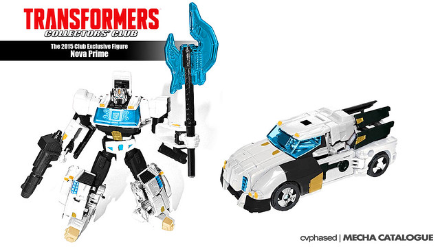 Transformers Collectors' Club 2015 Store Exclusive - Nova Prime