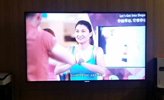 Finally, seeing myself on TV for the OSIM uShape Ad