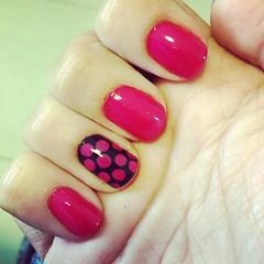 essa semana vou assim... #dotticure #nails #nailart #opi