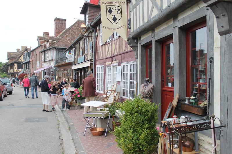 The picturesque village of Beuvron-en-Auge.