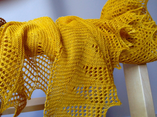 Saffron shawl 2