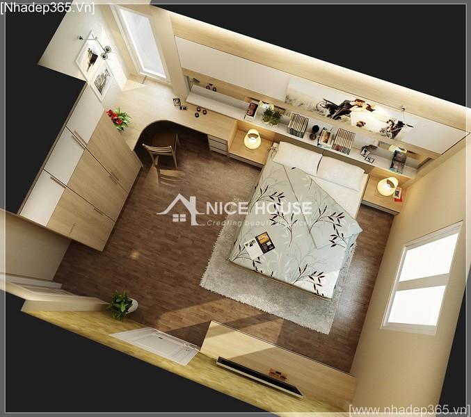 Thiết kế nội thất nhà anh Kiên - Hà Nội_3