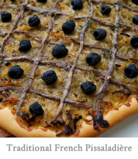 Traditional French Pissaladière