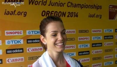 Anežka Drahotová juniorskou mistryní světa ve světovém rekordu!