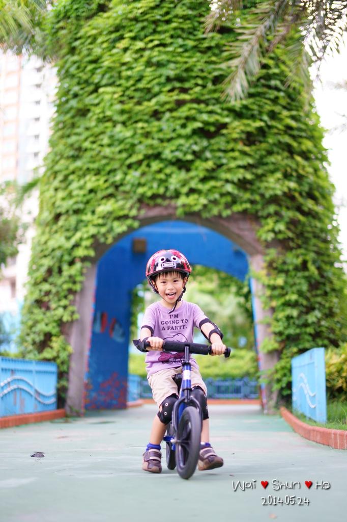 Happy biking