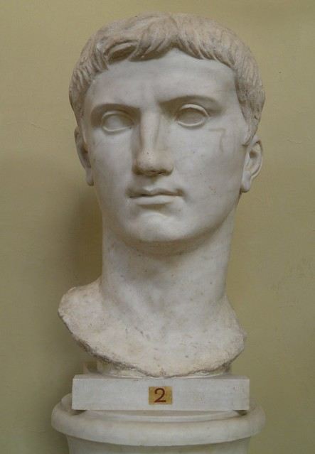 Colossal head of Augustus from Veii, Vatican Museums