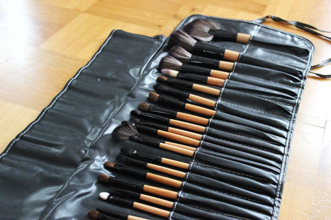 Milanoo make up brushes - beautyblogger deutschland - brushes review test