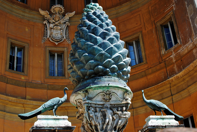 Pinecone Courtyard
