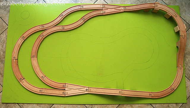 Train & Cars Board 3