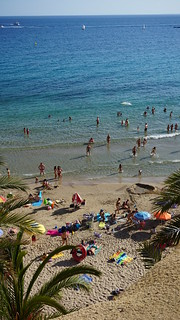 Image of Playa de Mal Pas Mal Pas Beach. espagne vacance benidorm 2014