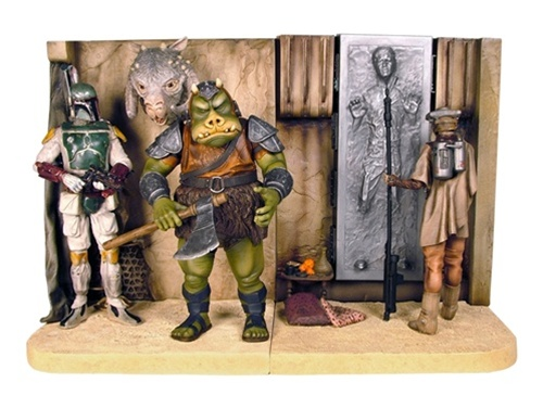 Gentle Giant 星際大戰【賈霸宮殿場景組】Jabba's Palace 媽媽我會好好讀書之造型書擋