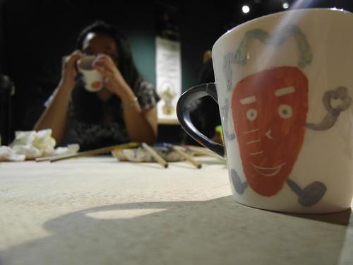 鶯歌自己動手做陶瓷 捏陶畫杯樣樣來08