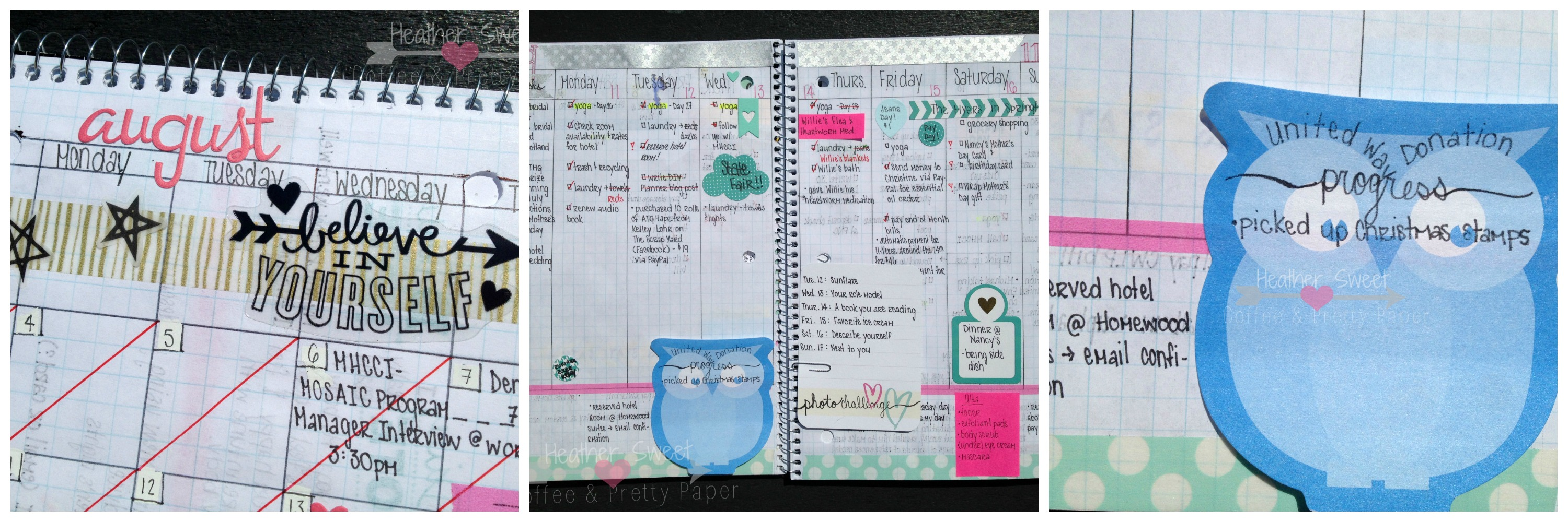 picture about Diy Daily Planner known as Espresso and Extremely Paper: My Do-it-yourself Planner