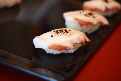 昼食 奴寿司 タコ