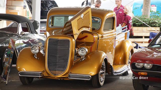 1935 Ford pickup built by legendary hot-rodder Gene Winfield