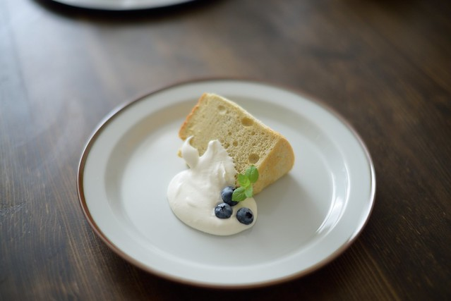 Chiffon cake with raw cane sugar 4