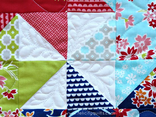 Miss Kate Mini quilting