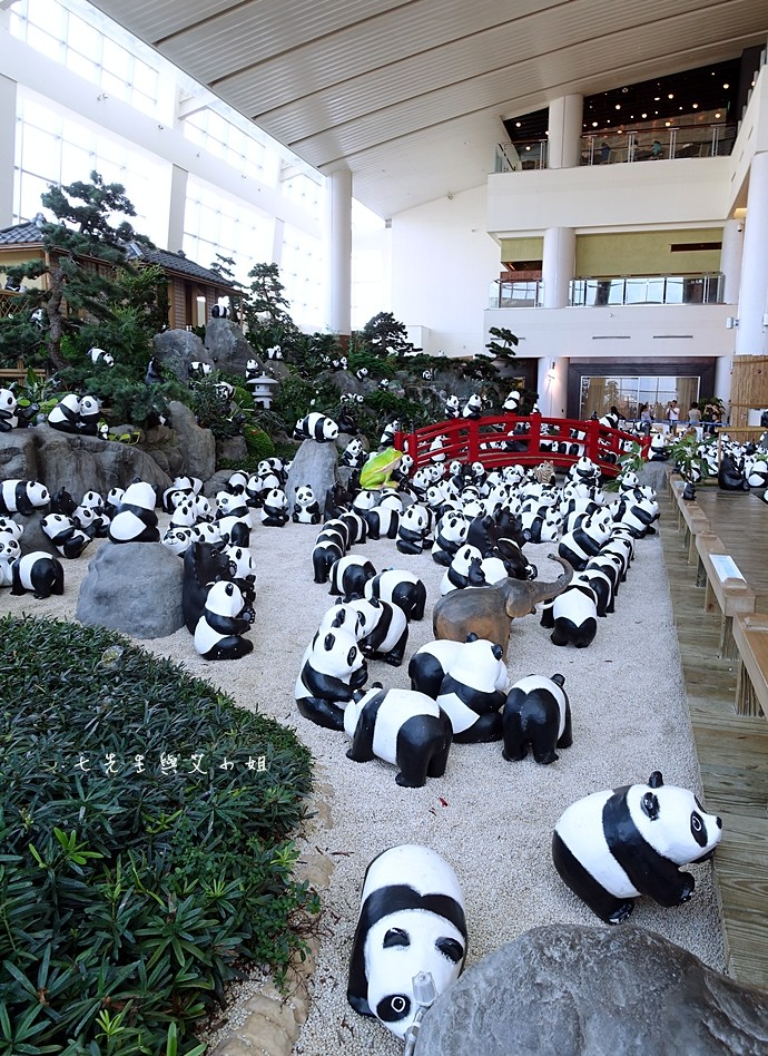 5 1600熊貓世界之旅-SOGO復興館日式庭園
