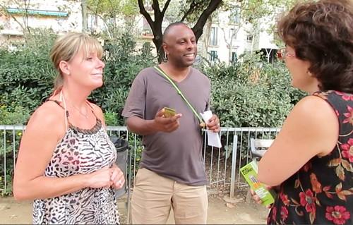 UK Visitors to Barcelona talk about #indyref