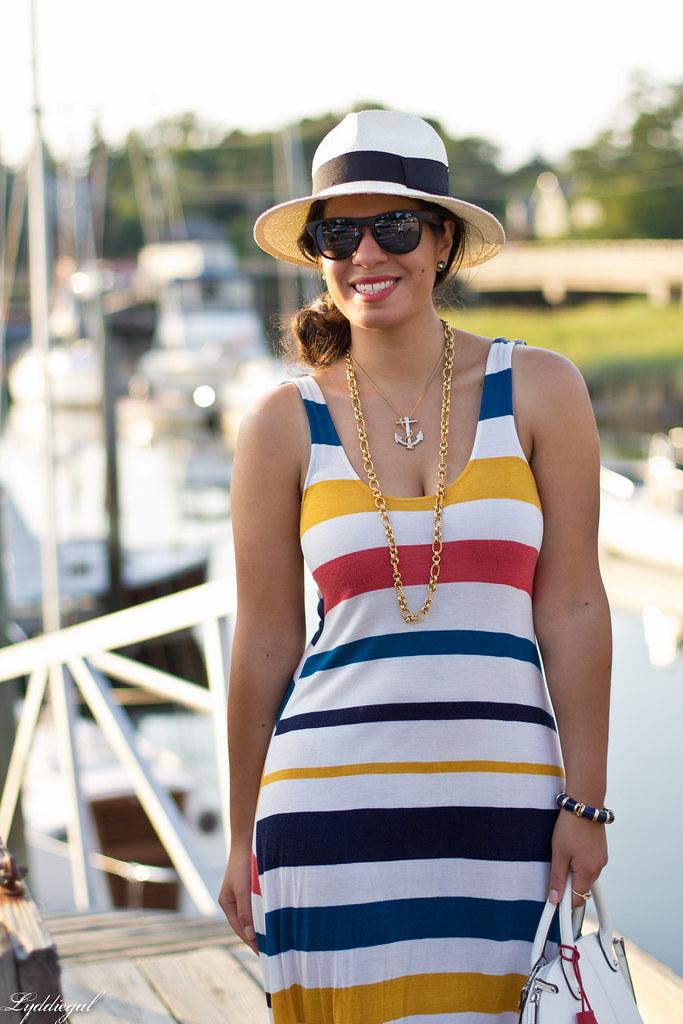 striped dress, panama hat-2.jpg
