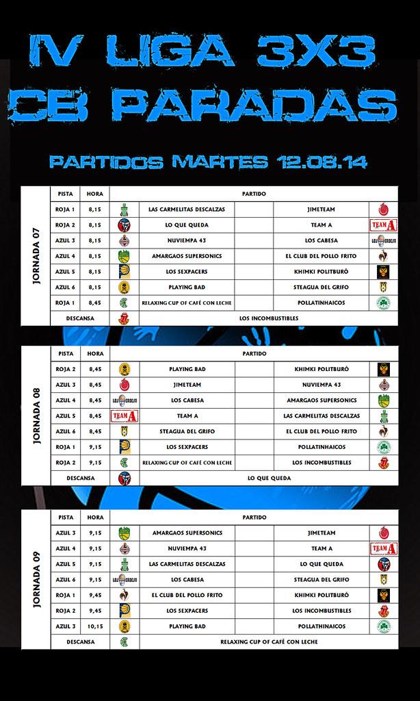 PARTIDOS DIA 03