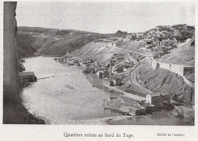 Barrio de las Tenerías a comienzos del siglo XX. Fotografía de Élie Lambert publicada en su libro Les Villes d´Art Célebres: Tolède (1925)