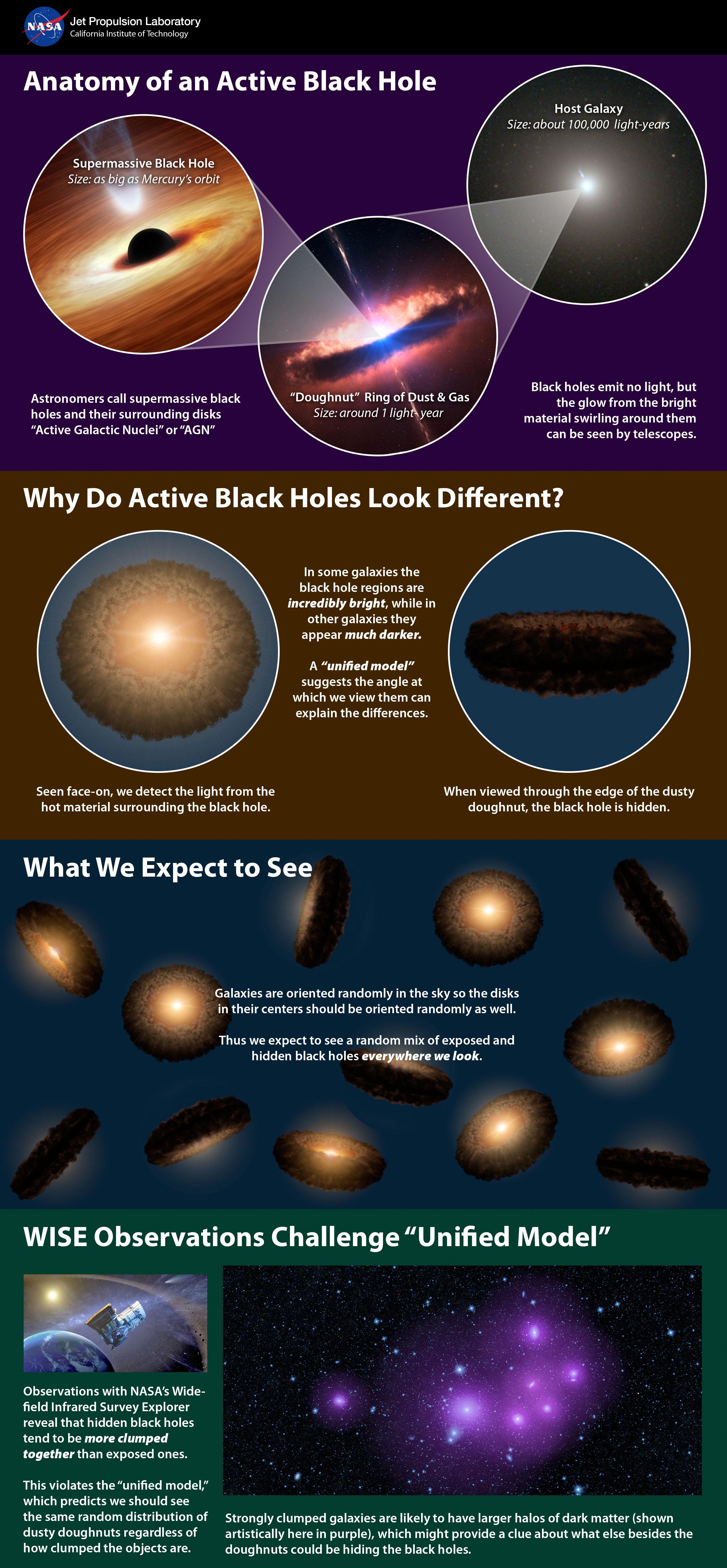 Active Black Hole