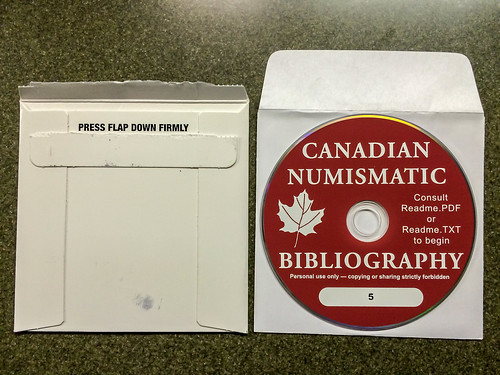 Canadian Numismatic Bibliography CD