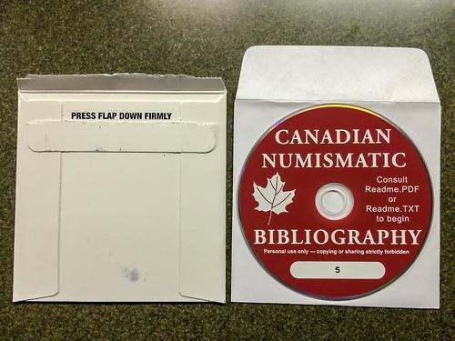 Canadian Numismatic Bibliography CD