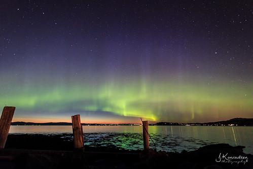 Autumn night Aurora